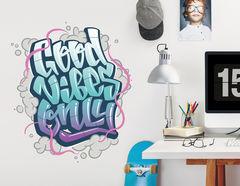 Wandtattoo Good Vibes Only - Graffiti