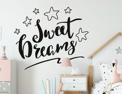 Wandtattoo Sweet Dreams Lettering