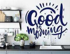 Wandtattoo Good Morning