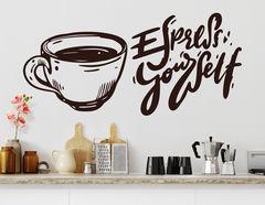 Wandtattoo Espresso Yourself