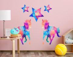 Wandtattoo Pferd Primus Star