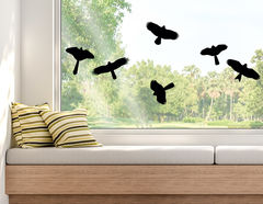 Wandtattoo Heimische Wildvögel
