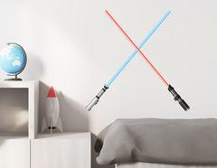 Wandtattoo Laserschwerter