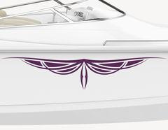 Bootsaufkleber Bordüre Athena-Set