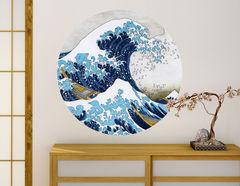 Wandtattoo Die große Welle