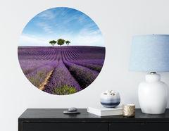 Wandtattoo Lavendelfeld