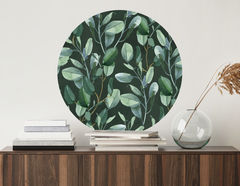 Wandtattoo Watercolor Eucalyptus
