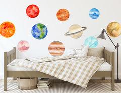 Wandtattoo Unser Sonnensystem
