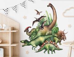Wandtattoo Jurassic Dinosaurs