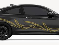 Autoaufkleber Pinstripe-Set Sama