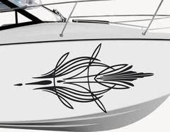 Bootsaufkleber Pinstripe-Set Kontiki