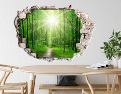 3D Wandtattoo Green Forest