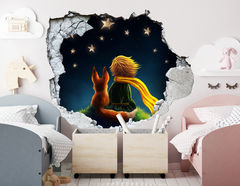 3D Wandtattoo Little Prince
