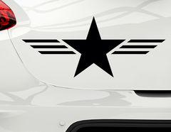 Autoaufkleber Military Star