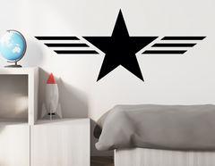 Wandtattoo Military Star