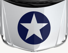 Autoaufkleber Navy Star
