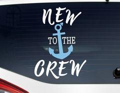 Autoaufkleber New to the Crew - Boy