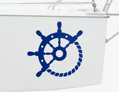 Bootsaufkleber Nautical Elements