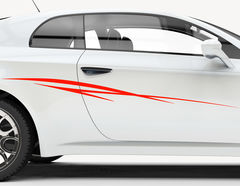 Autoaufkleber Spiny Stripe-Set