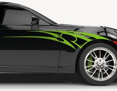Autoaufkleber Hot Razor-Set
