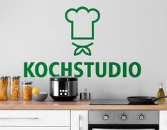 Wandtattoo Kochstudio