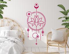 Wandtattoo Geometric Art Lotus