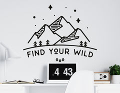 Wandtattoo Find Your Wild