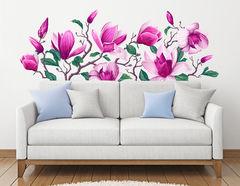 Wandtattoo Pink Magnolia
