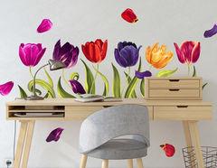 Wandtattoo Majestic Tulips