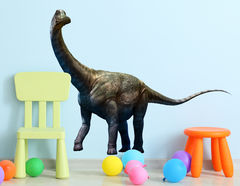 Wandtattoo Brontosaurus