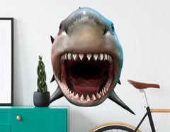 Wandtattoo Weißer Hai