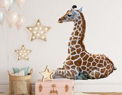 Wandtattoo Giraffenbaby Rabia