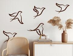 Wandtattoo Little Birds