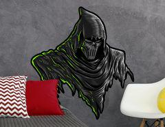 Wandtattoo Masked Reaper
