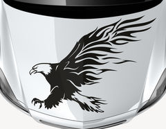 Autoaufkleber Tribal Bald Eagle