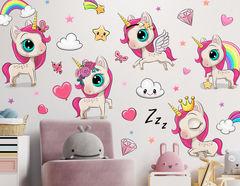 Wandtattoo My Little Unicorn Ponys