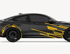 Autoaufkleber Laser Racer-Set