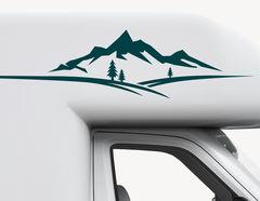 Autoaufkleber Klare Bergwelt-Set
