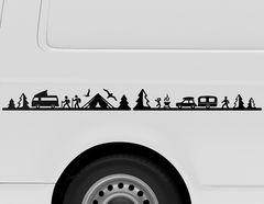 Autoaufkleber Camping Life
