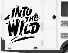Autoaufkleber Into the Wild