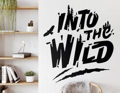 Wandtattoo Into the Wild