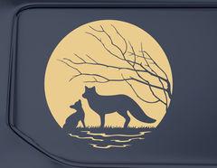 Autoaufkleber Wildlife of Fox