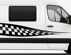 Autoaufkleber Road Champion-Set