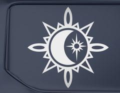 Autoaufkleber Astro Compass