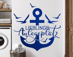 Wandtattoo Lieblings Anlegeplatz