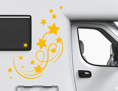 Autoaufkleber Sternenfunkeln-Set