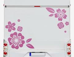 Autoaufkleber Kirschblüten Hana