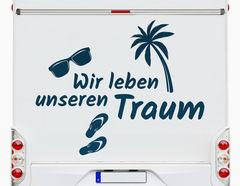 Autoaufkleber Traumleben Summertime