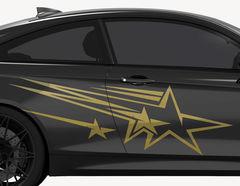 Autoaufkleber Speed Stars-Set