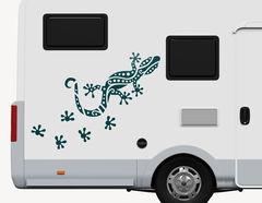 Autoaufkleber Gecko Makani-Set